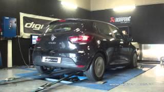 Reprogrammation Moteur Renault Clio 4 1.5 dci 90cv @ 119cv Digiservices Paris 77183 Dyno