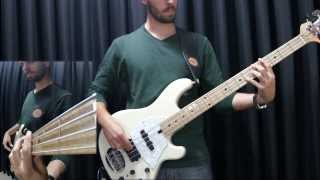 "Jamiroquai - ""Cosmic Girl"" [bass cover]"