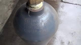видео Баллон для аргона 1 литр