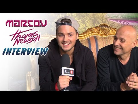 MARCO V & THOMAS NEWSON - Tomorrowland interview (FUN 1 TV)