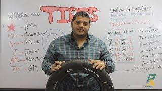 Tires - معانى كل الأرقام و الرموز اللى على الكاوتش