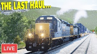 AMERICAN FREIGHT TRAIN FINAL HAUL | Train Sim World Gameplay
