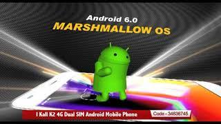 I Kall K2 4G Dual SIM Android Mobile Phone