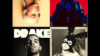 Ariana Grande/The Weeknd/Drake - Breathin x Starboy x Passionfruit x Into You (Mash-Up)