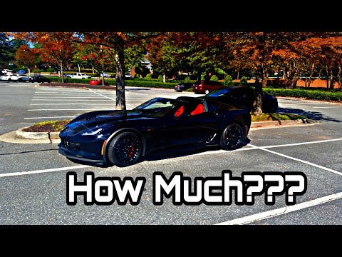 How Much Is My Corvette Z06 Payment??