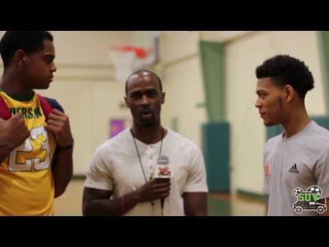 D.J. Harvey and Quade Green Interview: Allen Iverson Roundball Classic