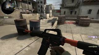 Counter Strike Global Offensive - M4A1-S Nitro ( Field Tested )