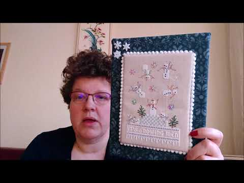 A Stitch Too Far - Flosstube #41: starting #ICTapestry!
