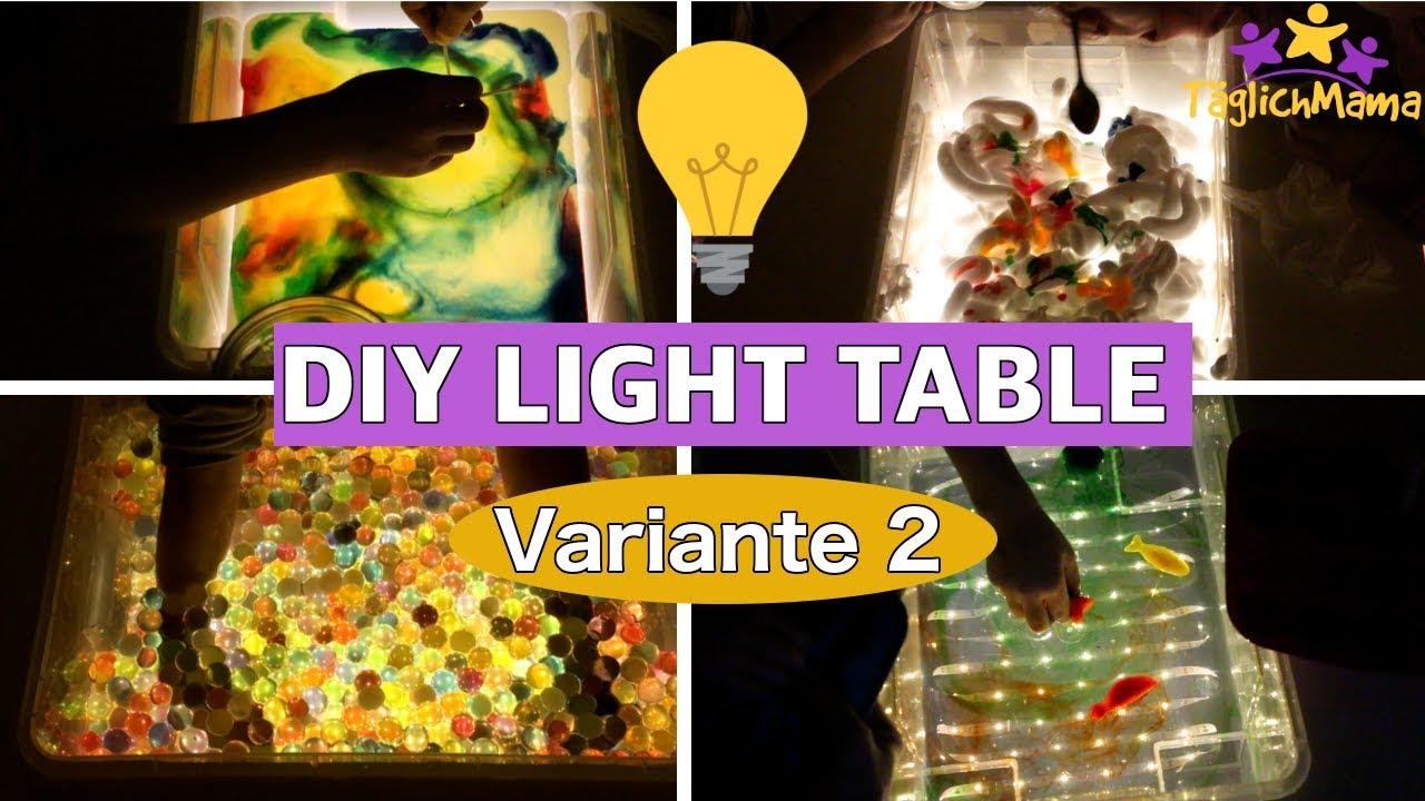 Diy Lichttisch 2 Spielideen Dazu Ikea Hack Light Table