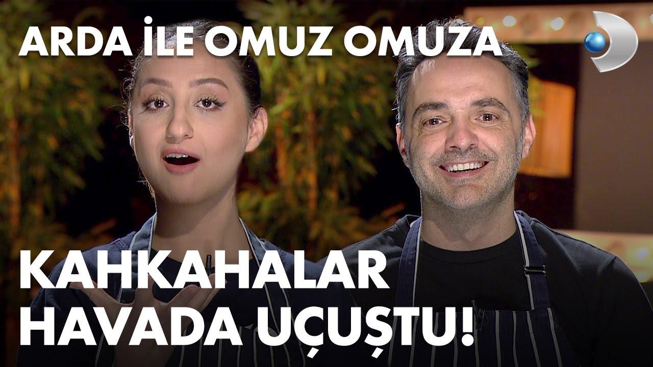 Ecem Erkek, Arda Türkmen ile mutfağa girerse! Arda ile Omuz Omuza 84. Bölüm