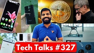 Tech Talks #327 - Redmi 5, Fake iPhone X, Bitcoin 6000$, Wireless Charging Drone, Facebook Paypal