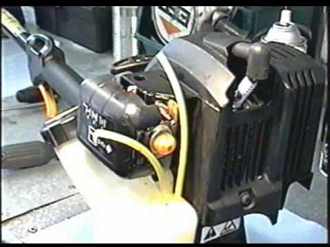 Carburetor Rebuild of 4 Cycle Ryobi, Troybilt Grass Trimmer  YouTube