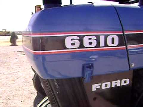 Tractor Ford 6610 1990 $14300 fza
