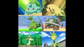 Bửu Bối Thần Kỳ - Các Pokemon Hệ Cỏ Của Satoshi