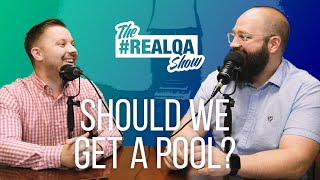 Should we put in a pool? & 3 more REAL Questions from YOU