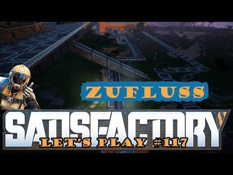 Satisfactory Let's Play 117 - Deutsch - Zufluss regeln - Großschmelzerei Part 8