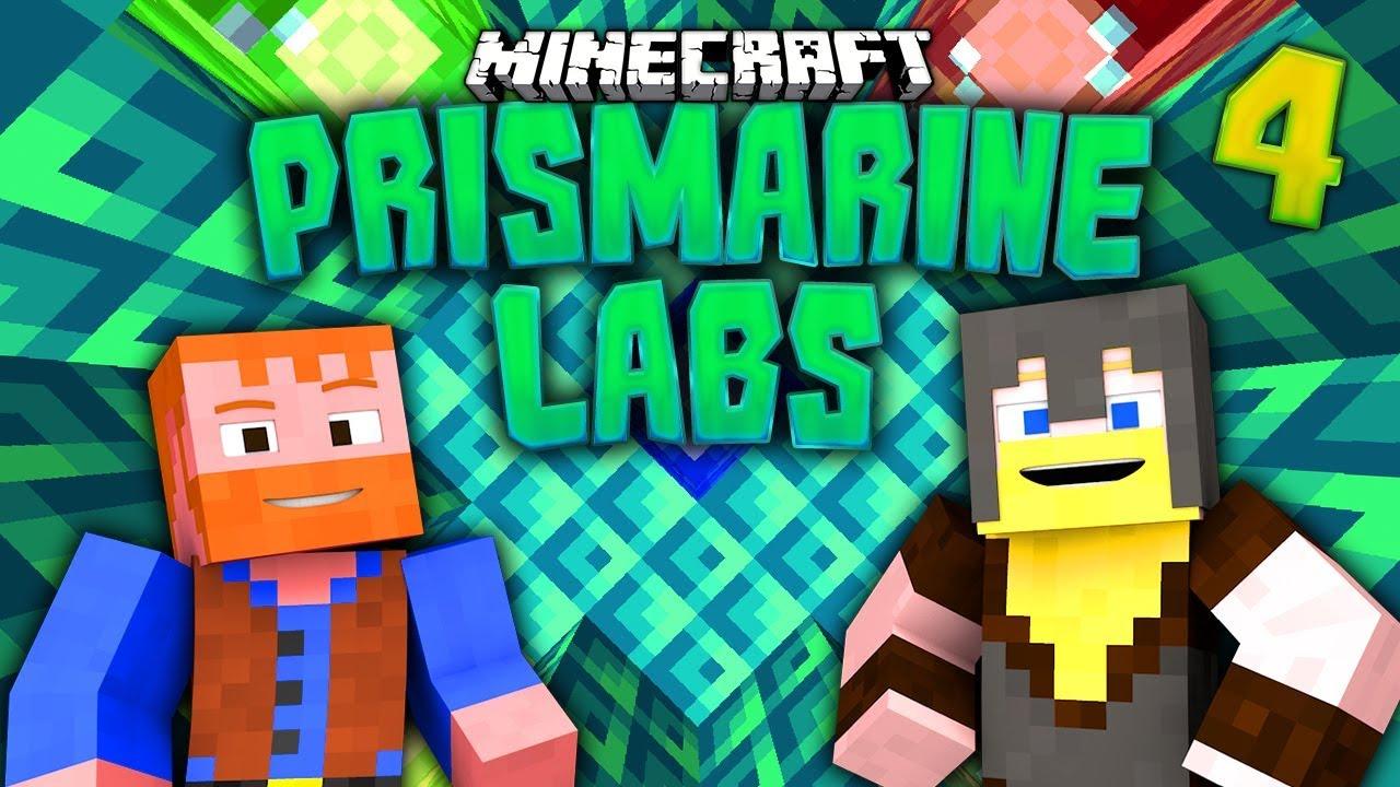 Minecraft: Prismarine Labs (4) - Dumb & Dumber