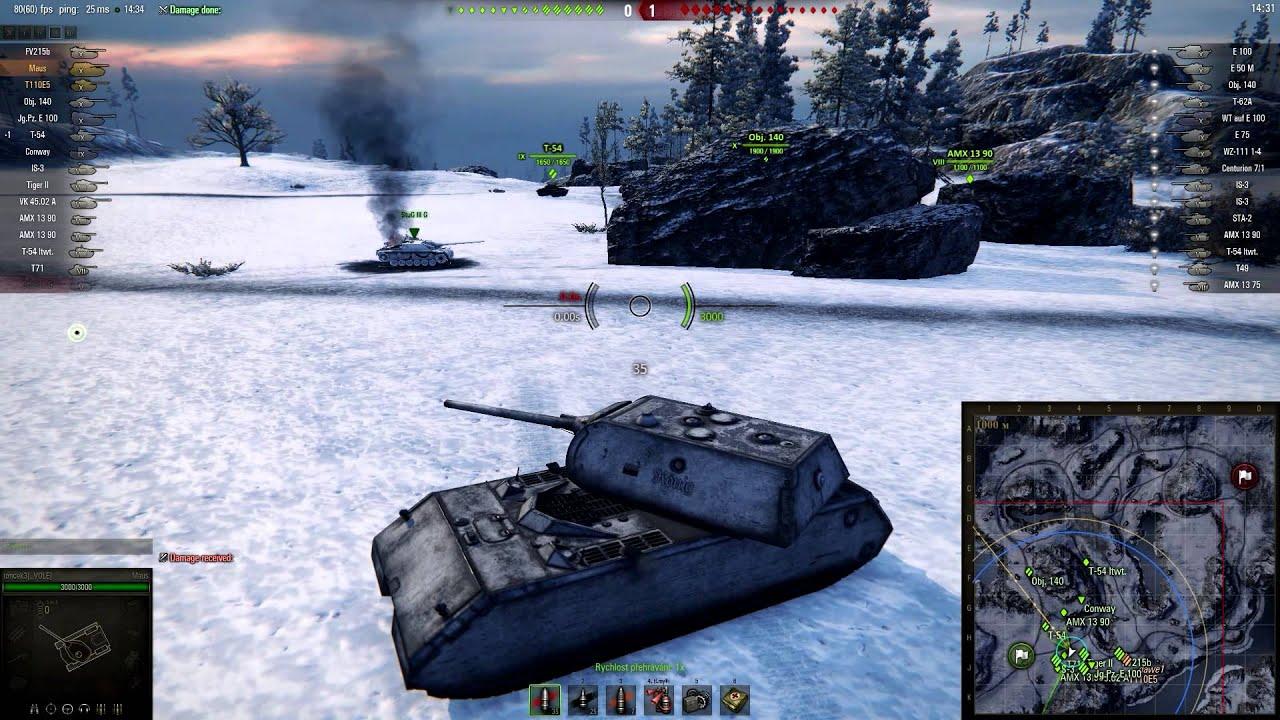 Download World of Tanks CZ - mise (ART-6, TT-12, ST-12) T-55A