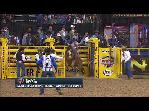 ac4aec2e 2017 Wrangler NFR Round 1 Highlights - YouTube