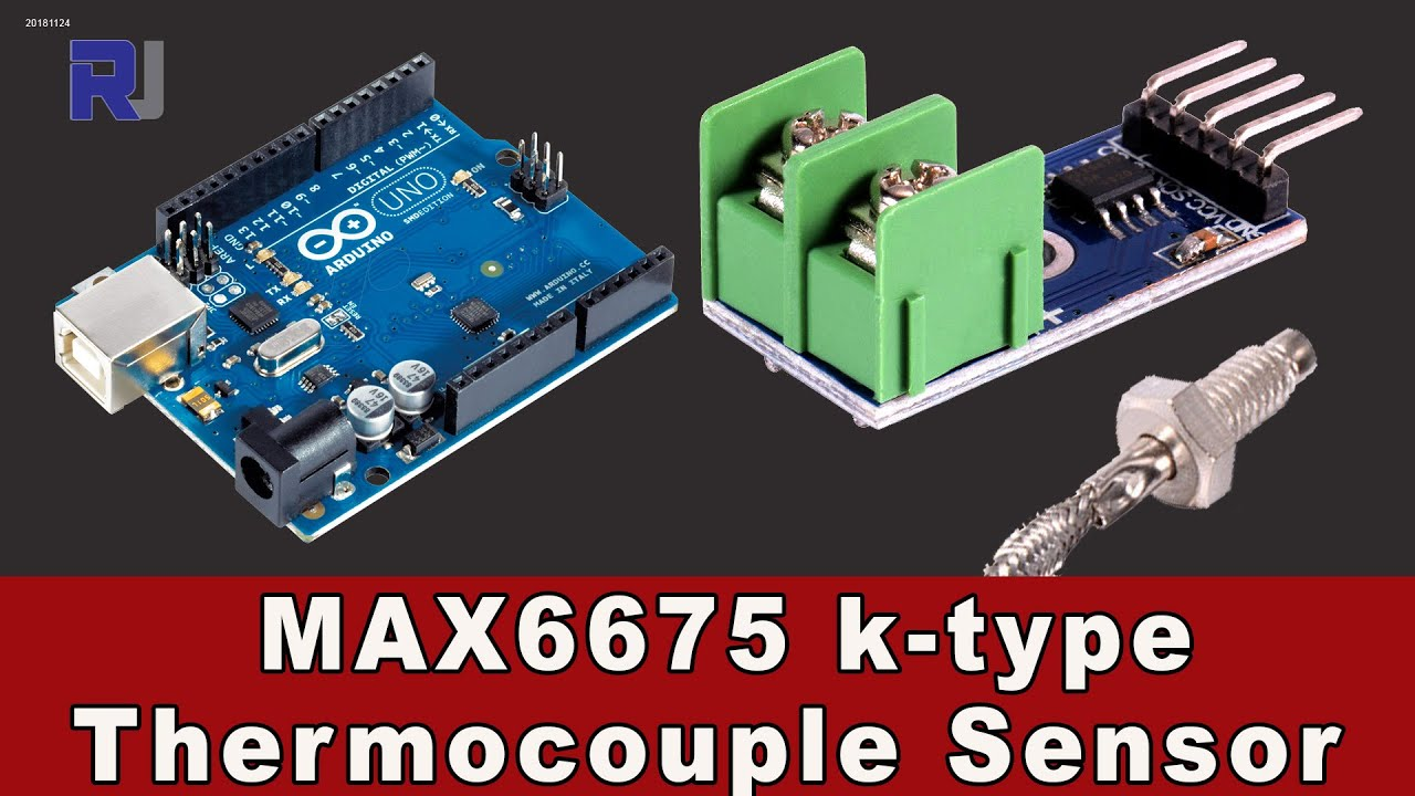 How to use MAX6675 thermocouple k type with Arduino
