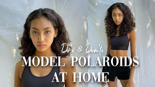 HOW TO TAKE PHOTOS FOR A MODELLING AGENCY- DO'S, DON'TS, TIPS & EXAMPLES | Morgan Fernandez