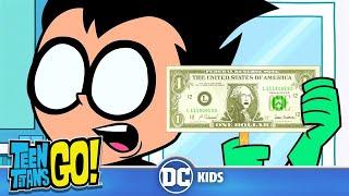 Teen Titans Go! En Español | El Dinero No Puede Ser Malo | DC Kids