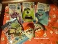 1 My little pony FiM blind bag, 2 Kinder surprise, 3 Monsters University popping candy opening 2