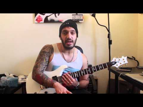 How to play 'This War Is Ours'  Escape The Fate Guitar Solo Lesson wtabs pt1