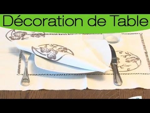 R aliser parfaitement un set de table original youtube - Set de table original ...