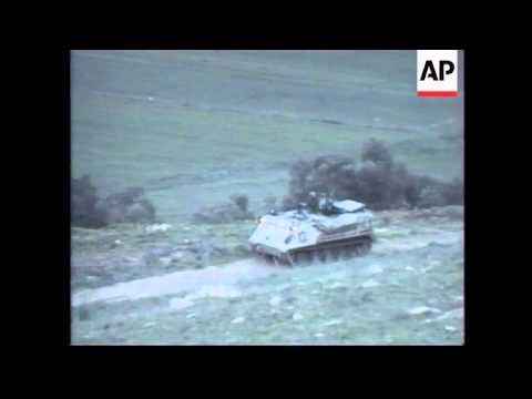 South Lebanon - Hezbollah Attack Israeli Outposts