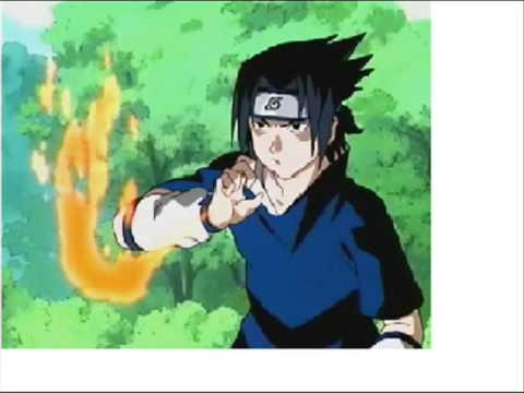 Image result for sasuke fire