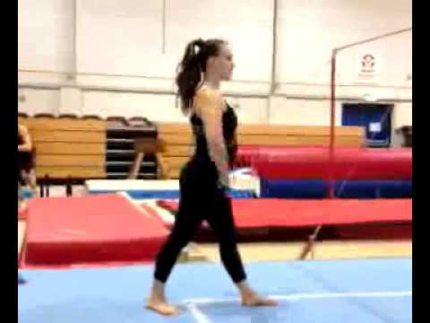 Nandalie gymnastics test JISC