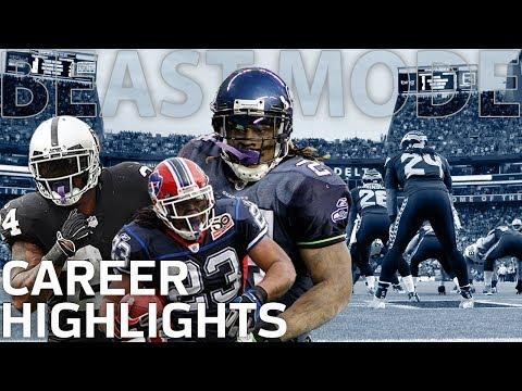 Marshawn Lynch's BEAST MODE Career Highlights | NFL Legends