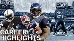 Marshawn Lynch's BEAST MODE Career Highlights   NFL Legends