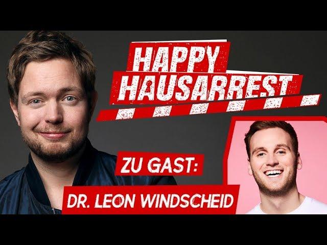 Pärchen in Corona-Zeiten: Dr. Leon Windscheid bei Bielendorfers