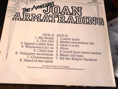 The amazing Joan Armatrading (full album)