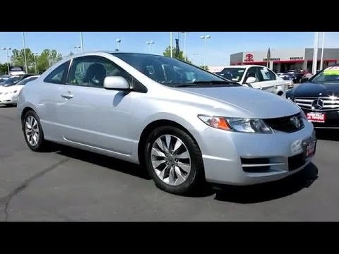 2009 honda civic ex l coupe sacramento roseville folsom elk grove youtube. Black Bedroom Furniture Sets. Home Design Ideas