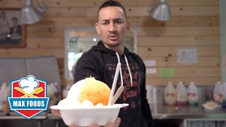 MY flavor made with REAL GOLD at Matsumoto Shave Ice | Max Food