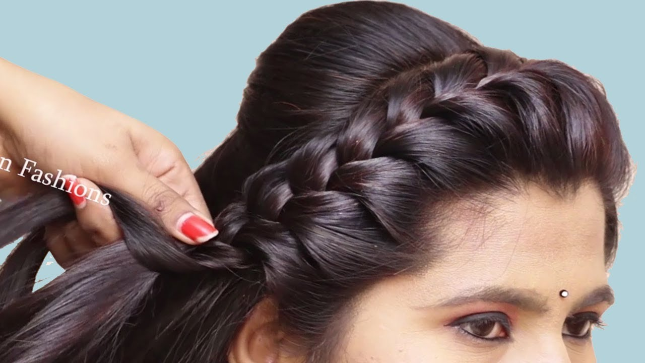 27 Gorgeous Wedding Hairstyles For Long Hair In 2019: Beautiful Hairstyle For Long Hair With Trick