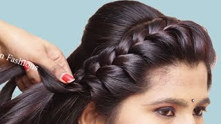 Beautiful hairstyle for long hair with trick | trendy hairstyle | hair style girl | 2019 hairstyles