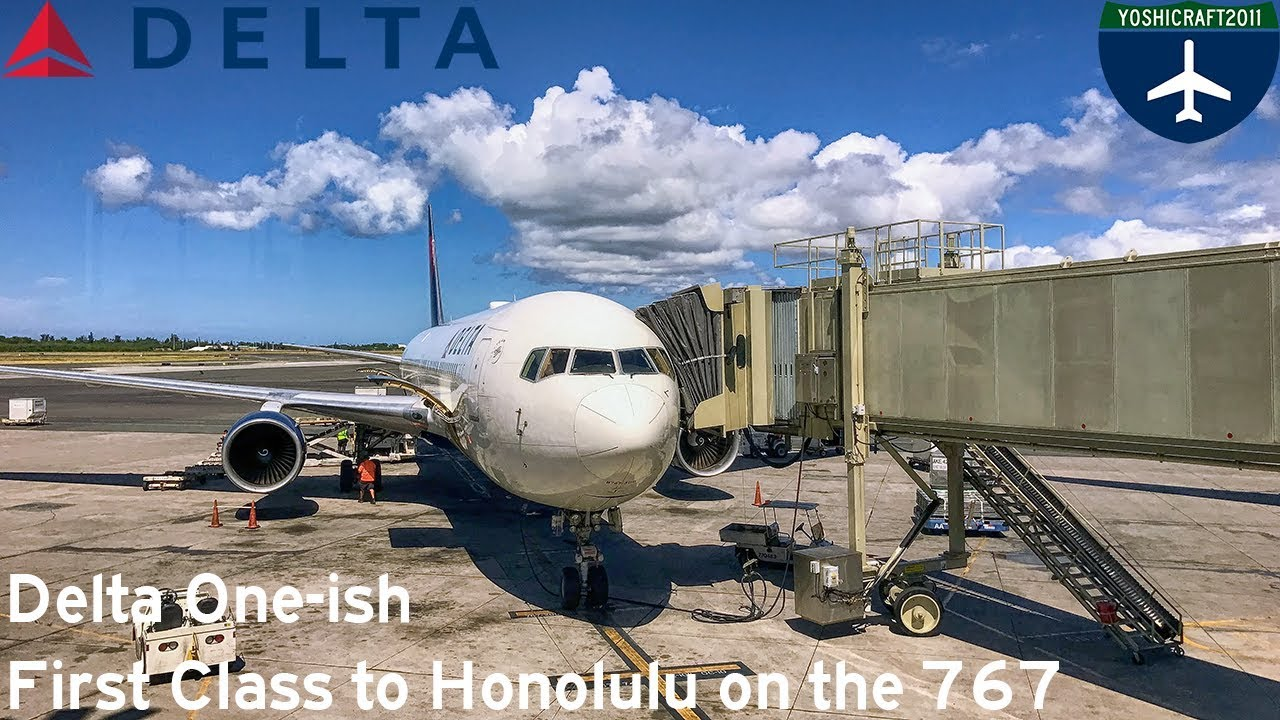 Delta One Ish First Cl To Honolulu On The 767 Dl1283 Lax Hnl