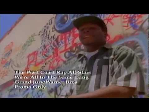 Were All In The Same Gang  The West Coast Rap AllStars:  Boom Bap Throwback!