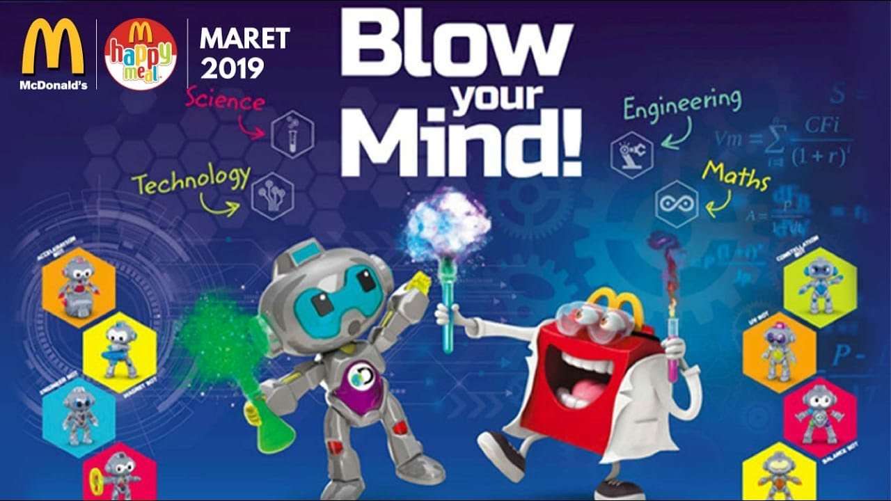 Maret 2019 Next Happy Meal Mcdonald S Asia Discovery