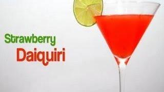 How To Make A Strawberry Daiquiri