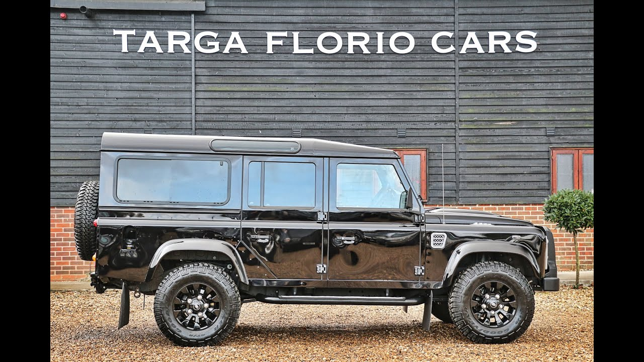 land rover defender 110 xs 2 2 td 170bhp in barolo black with 7 seats london uk youtube. Black Bedroom Furniture Sets. Home Design Ideas