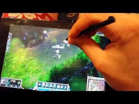 League of Legends Asus Vivotab Note 8