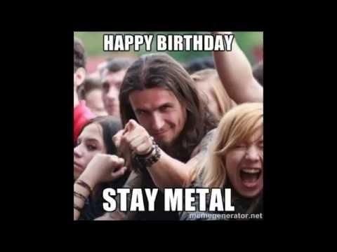 Happy Metal Birthday