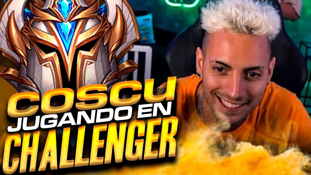 ¡COSCU juega en MI CUENTA CHALLENGER! (Me intea) | Werlyb