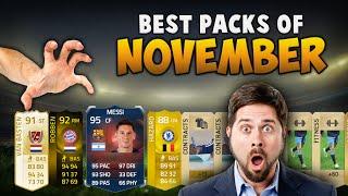 BEST PACK REACTIONS OF NOVEMBER FT. RECORD BREAKER MESSI, LEGENDS & CRAZY INFORMS! - FIFA 15