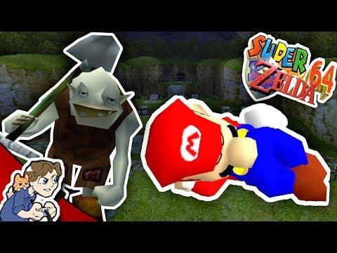 fogo BUTT | Mario 64 Hacked World (Part 8) - super mario bros video